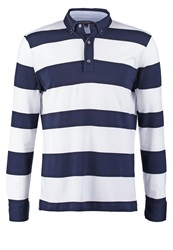 Banana Republic Polo Shirt Preppy Navy Dark Blue