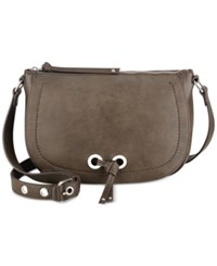 Nine West Bohemian Beltway Saddle Crossbody Military