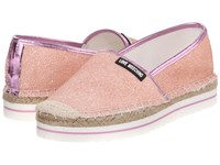 Love Moschino Sparkle Slip On Pink Women's Slip On Shoes