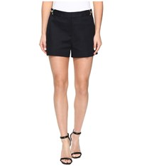 Michael Michael Kors High Waist Stitch Shorts New Navy Women's Shorts