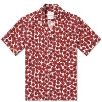 Wood Wood Brandon Floral Shirt Red