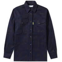 Gosha Rubchinskiy Garment Washed Shirt Blue