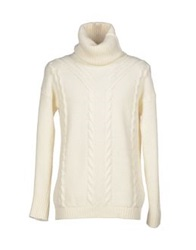 Idrostop Marina Yachting Turtlenecks Ivory