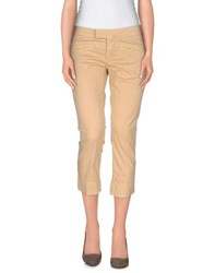 Killah Trousers 3 4 Length Trousers Women Sand