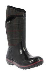 Bogs Women's 'Plimsoll Prince Of Wales' Tall Waterproof Snow Boot