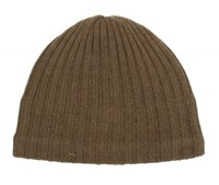 Dents Mens Knitted Hat Chocolate