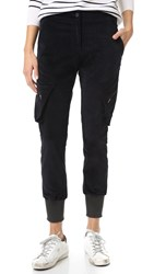 James Jeans Boyfriend Cargo Pants Ebony Cord