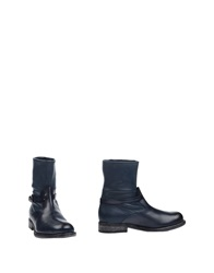 Henry Beguelin Ankle Boots Dark Blue