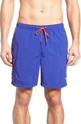 Tommy Bahama Men's 'The Naples Happy Go Cargo' Swim Trunks Sapphire Night