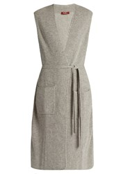 Max Mara Amarena Gilet Light Grey