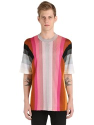 Marco De Vincenzo Striped Knit T Shirt