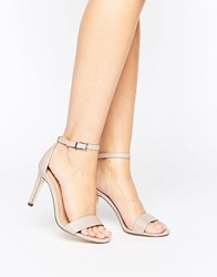 Call It Spring Ahlberg Blush Two Part Heeled Sandals Pink