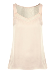 Jane Norman Lace Insert Camisole Pink