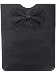 Red Valentino Bow Detail Tablet Case Black