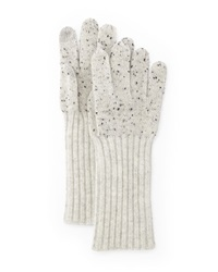 Rag And Bone Catherine Speckle Knit Cashmere Gloves