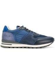 Brimarts Lace Up Sneakers Blue