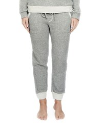 Candc California Brushed Knit Jogger Pants Grey