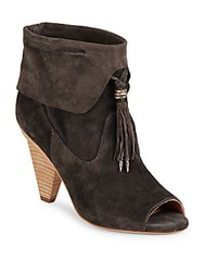 Sigerson Morrison Leather Ankle Boots Black