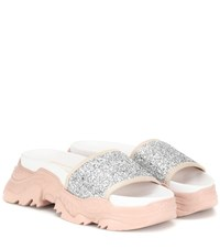 N 21 Exclusive To Mytheresa Billy Sandals Silver