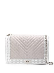 Marc Ellis Oversized Quilted Shoulder Bag Grey
