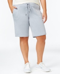 Calvin Klein Plus Size Cotton Active Shorts Only At Macy's