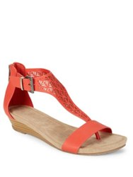Kenneth Cole Reaction Great Gal Wedge Sandals Coral