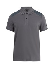 Belstaff Hitchin Cotton Polo Shirt Blue