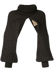 Uma Wang Roll Neck Jumper Brown