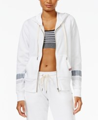 Tommy Hilfiger Sport Striped Hoodie A Macy's Exclusive Style White