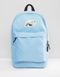 New Balance Classic Logo Backpack In Blue Porcelain