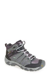 Keen Women's 'Oakridge' Waterproof Hiking Boot Gray Shark