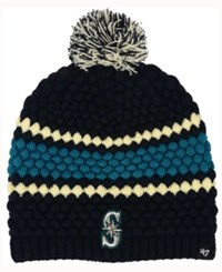 47 Brand '47 Women's Seattle Mariners Leslie Knit Hat Navy Teal