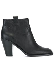 Ash 'Ivana' Ankle Boots Black