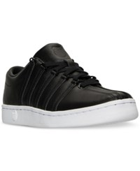 K Swiss Men's The Classic 88 P Casual Sneakers From Finish Line Black White