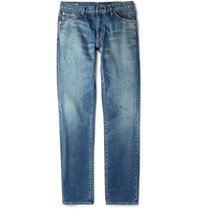 Visvim 04 Social Sculpture Slim Fit Selvedge Denim Jeans Blue