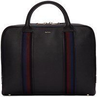 Paul Smith Black City Web Folio Briefcase