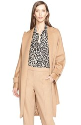 Women's Max Mara 'Megaton' Camel Hair Wrap Coat