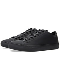 Diemme Veneto Low Black Rubberised Leather