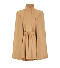 Maje Glasgow Cape Coat Female Camel