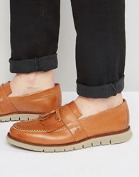 London Brogues Gatz Loafers Tan