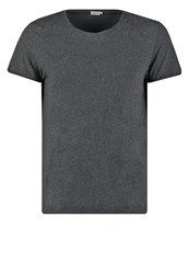 Filippa K Basic Tshirt Dark Grey Melange Dark Gray