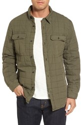 Ugg Quilted Shirt Jacket Olive