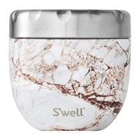 S'well Bottle 2 In 1 Nesting Food Bowl Calcatta Gold Brown