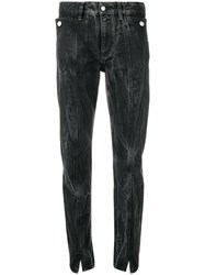 Givenchy Bleached Marble Jeans Black