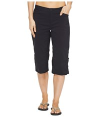 Woolrich Daring Trail Convertible Knee Pants Black Women's Casual Pants