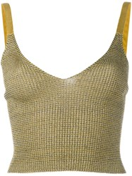 Kenzo Knitted Tank Green