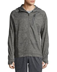 Hawke And Co Front Zip Performance Hoodie Nautical Blue