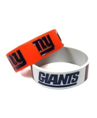 Aminco New York Giants Wide Bracelet 2 Pack
