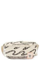 Billabong 'Dusty Midnight' Print Canvas Fanny Pack White White Cap