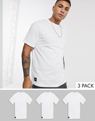 Native Youth Oversized 3 Pack T Shirt Beige